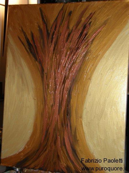 albero luce mano